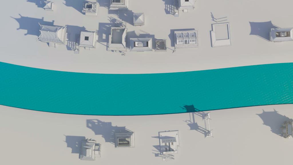 城市建筑三维演绎