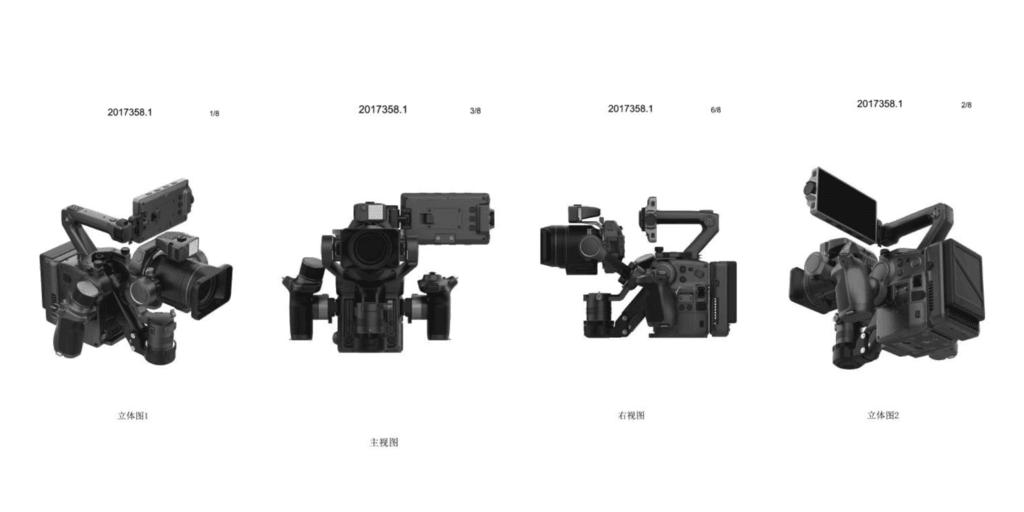 大疆 DJI PRO 摄影机真机曝光,可换镜头,集成三轴稳定器 8K摄影机 第2张