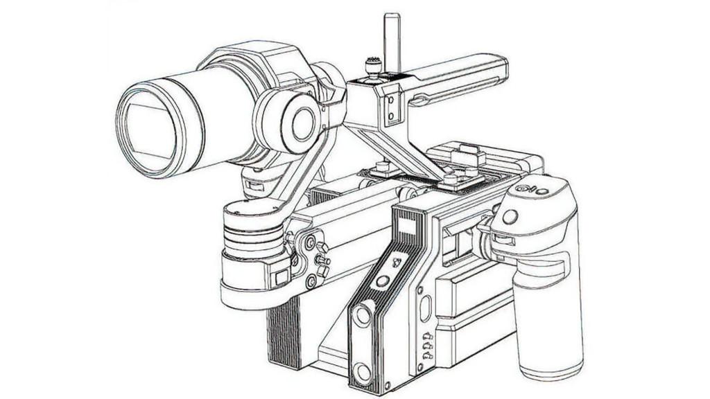 大疆 DJI PRO 摄影机真机曝光,可换镜头,集成三轴稳定器 8K摄影机 第3张