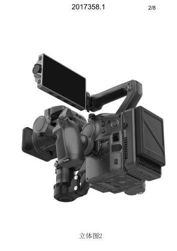 大疆 DJI PRO 摄影机真机曝光,可换镜头,集成三轴稳定器 8K摄影机 第5张