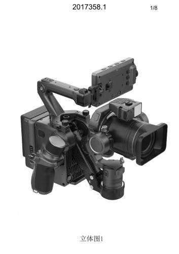 大疆 DJI PRO 摄影机真机曝光,可换镜头,集成三轴稳定器 8K摄影机 第6张