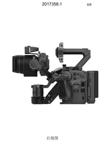大疆 DJI PRO 摄影机真机曝光,可换镜头,集成三轴稳定器 8K摄影机 第7张
