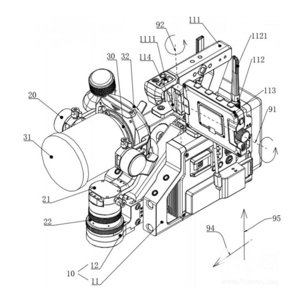 大疆 DJI PRO 摄影机真机曝光,可换镜头,集成三轴稳定器 8K摄影机 第9张