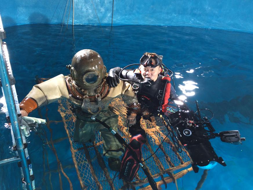 水下特种拍摄,每一个镜头都是一段故事——Team Theseus团队专访