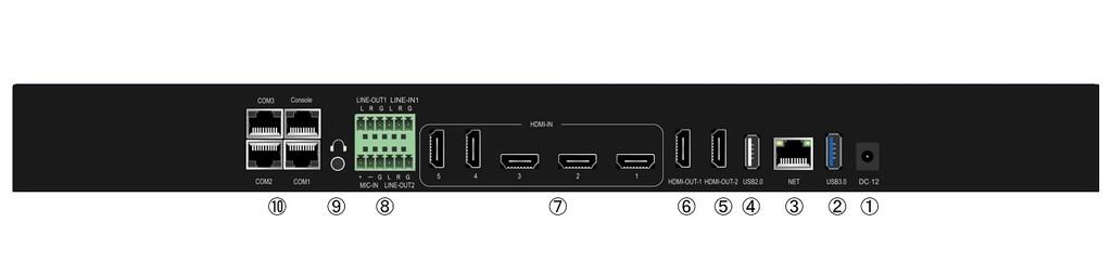 派尼珂超清5路4K视频会议录播主机NK-4K705ERC典型应用案例