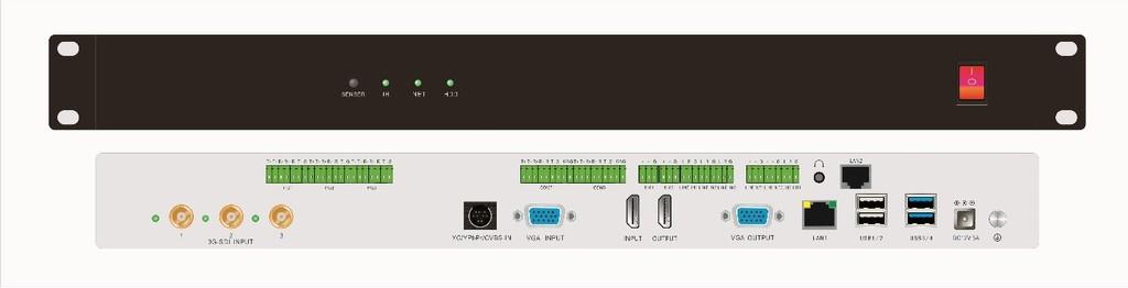 派尼珂4+2路数字高清医学手术互动录播主机