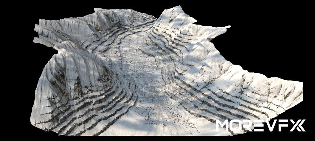 【TECH】MORE VFX《流浪地球》视效解析Part3· GEN场景制作