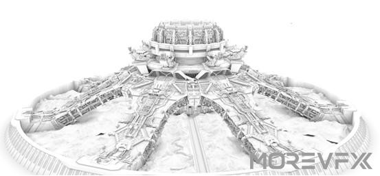 【TECH】MORE VFX《流浪地球》视效解析Part5-1 · 引擎发动机的灯光渲染与合成