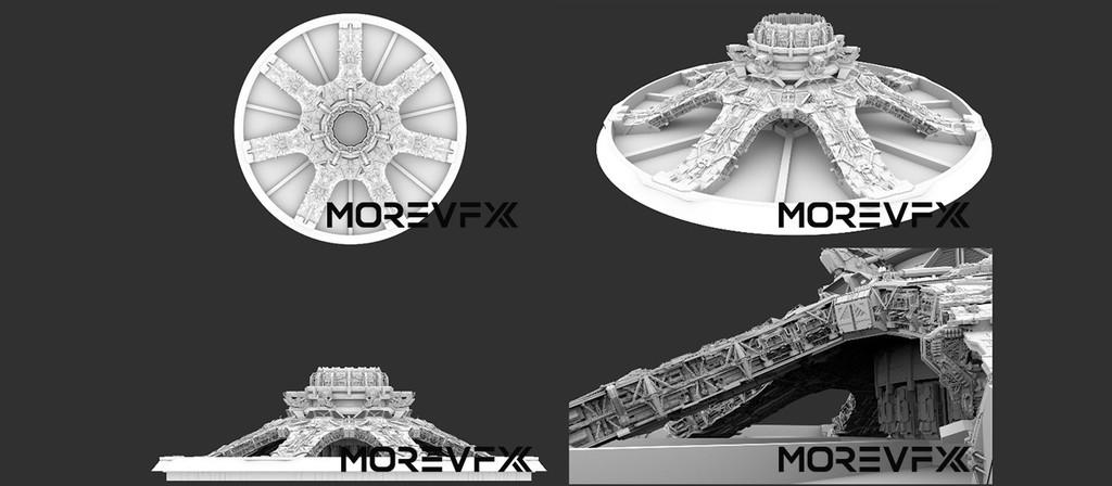 【TECH】MORE VFX《流浪地球》视效解析Part10 · 资产解析