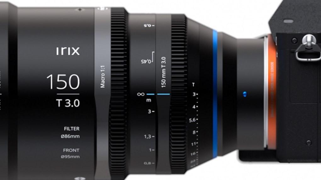 Irix的第一款電影鏡頭——Cine 150mm T3.0微距1:1